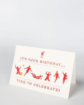 LFC It's Your Birthday Card