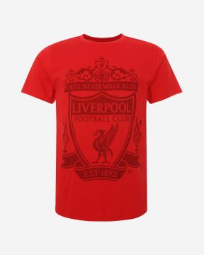 LFC Mens Red Crest Tee