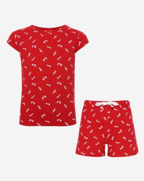 LFC Rot Kurz Pyjama Set Junior
