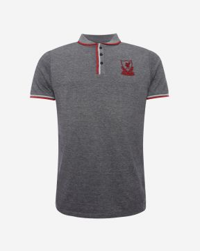 LFC Mens Birdseye Navy Polo