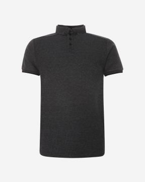 LFC polo gaufre gris anthracite (homme)