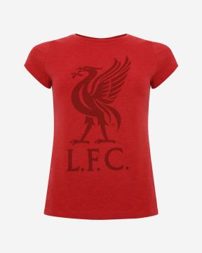LFC Womens Liverbird Red Marl Tee