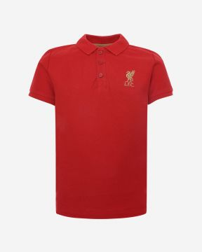 Polo LFC Junior Rojo Manga Corta