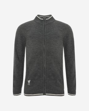 LFC Mens Charcoal Acrylic Funnel Neck