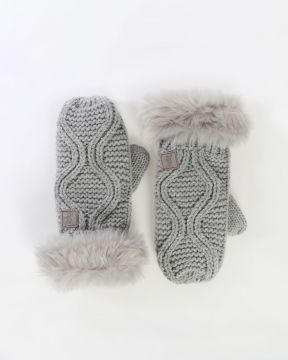 LFC Junior Cable Knit Glove