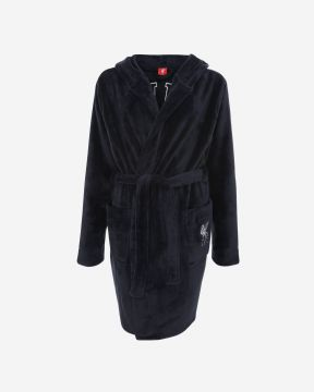 LFC Womens Navy Dressing Gown