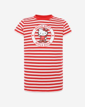 LFC Junior Hello Kitty Girls Rule T-Shirt
