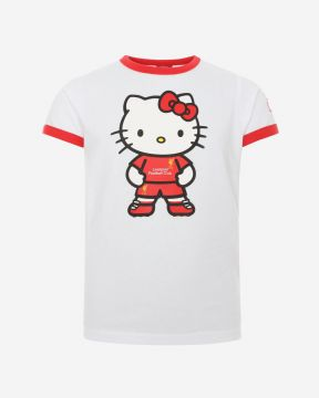 Camiseta LFC Junior Blanca Rebordes Hello Kitty