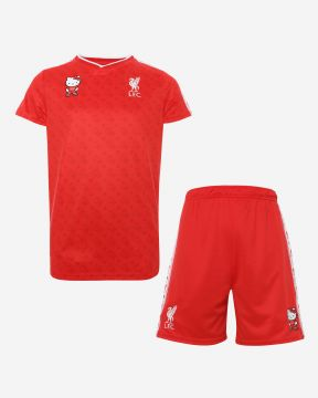 Conjunto de Camiseta y Shorts LFC Junior Hello Kitty