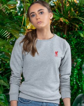 LFC Womens Liverbird Crew Neck Sweatshirt