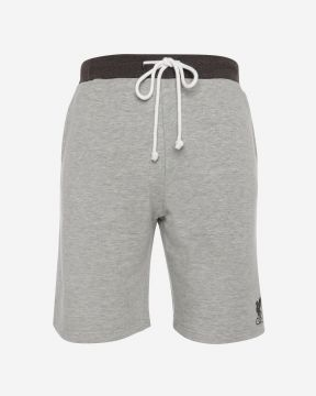 LFC Mens Grey Marl Sweat Short
