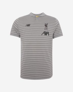 LFC Mens Grey Travel Polo 19/20