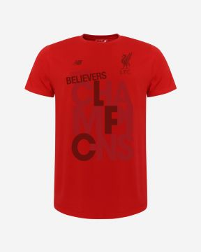 LFC NB Adults Champions 19/20 Red Tee
