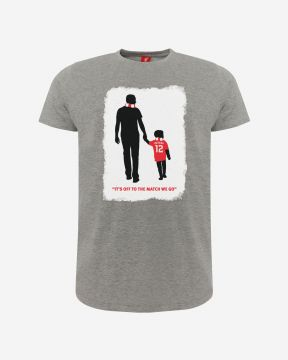LFC Adults Owen McVeigh Foundation T-Shirt Grey