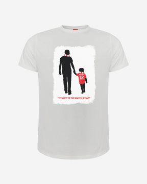 LFC Adults Owen McVeigh Foundation T-Shirt White