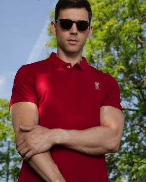 LFC Mens Conninsby Vintage Red Polo