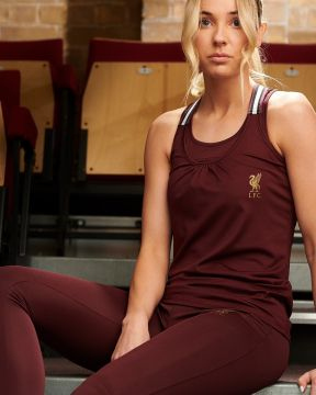 LFC Damen Rubinrot Sport Leggings
