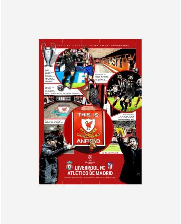 LFC v Atletico Madrid Programme - Champions League - 11.03.20