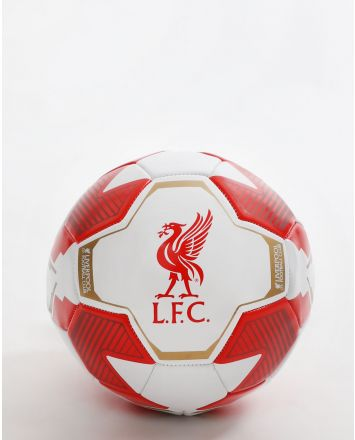 LFC Red & White Size 5 Ball