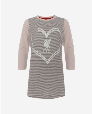 LFC Junior Grey Marl/Pink Love LFC Nighty