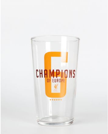LFC UCL Champions Pint Glass