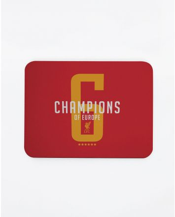 LFC UCL Champions Mousemat