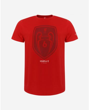 LFC Adults UCL Champions Red Tee