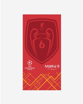 LFC UCL Badge Of Honour Towel