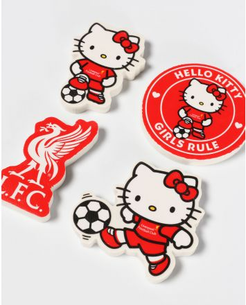 LFC Hello Kitty pack de 4 gommes