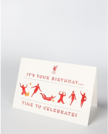 LFCの「It's Your Birthday」のカード