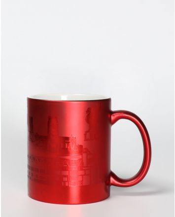 LFC Red Metallic Skyline Mug