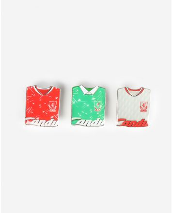 Set Triple Insignia LFC Retro