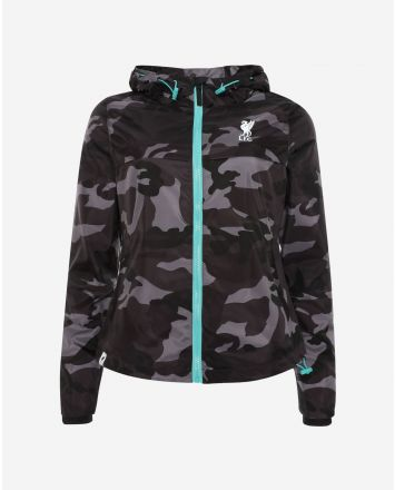 LFC Womens Black Camo Jacket