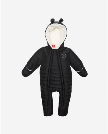 LFC Baby Quilted Snowsuit Black