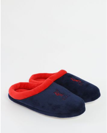 LFC Marineblau Fleece Pantoffeln Junior