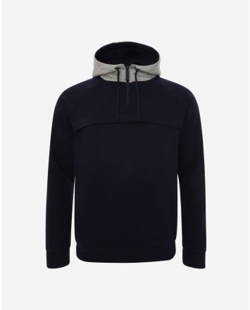 LFC Mens 1/4 Zip Navy Hoody