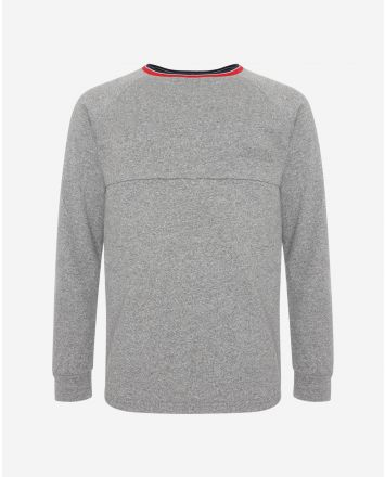 LFC sweat Walk On gris avec un col ras-du-cou (homme)