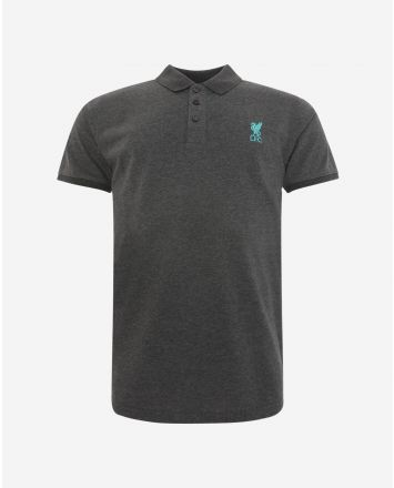 LFC Mens Conninsby Charcoal Polo