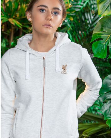 LFC Womens Ice Marl Zip Thru Hoody