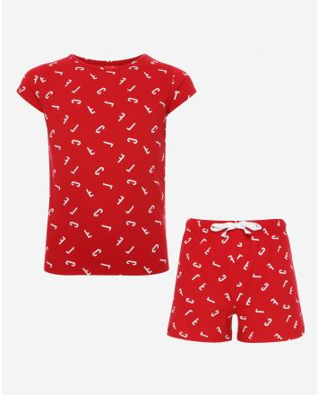LFC Junior Red Short PJ Set