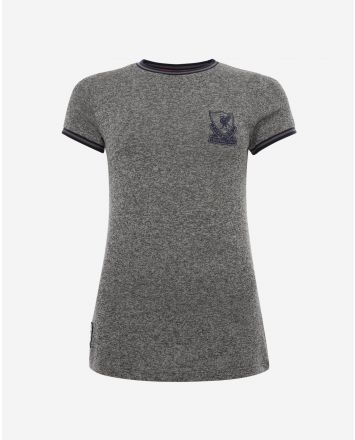LFC Womens Knitted Crest Tee