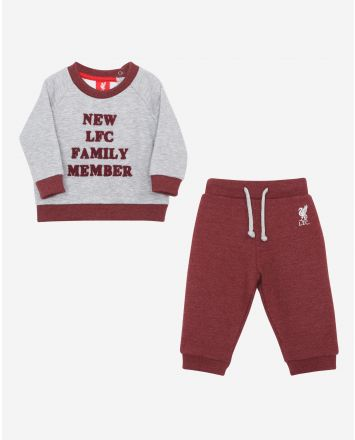 LFC Baby Grey Marl 'Family Member' Jog Set