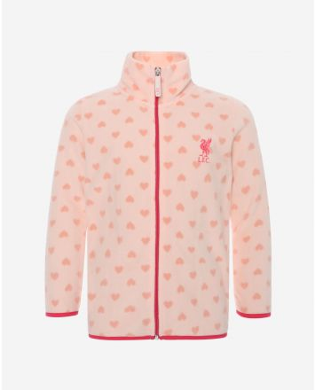 LFC Junior Pink Fleece Zip Through