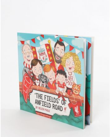 LFC The Fields Of Anfield Road Illustrated Book