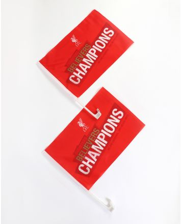 LFC Champions Car Flags