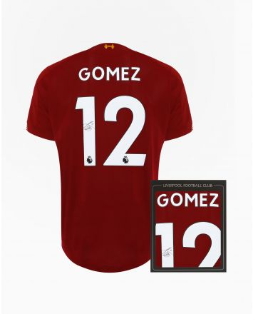 LFC 19/20 Gomez Signed Shirt