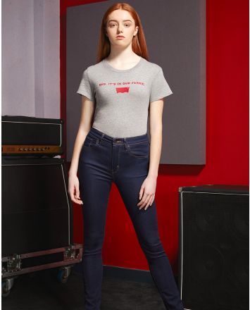Levi's® X LFC Womens Perfect Fabric Grey Tee