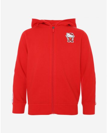 LFC Junior Hello Kitty Zip Through Hoody Red