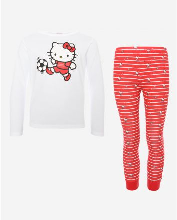LFC Ensemble De Pyjama De Hello Kitty Enfant