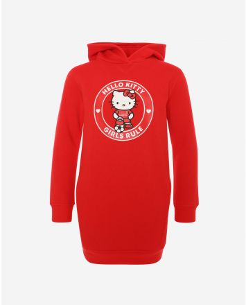 Vestido Estilo Sudadera LFC Junior Hello Kitty